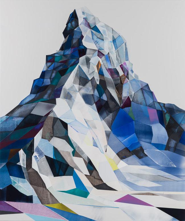 Matterhorn gemalt von Torben Giehler